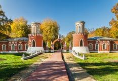 Vorontsovo庄园 莫斯科 免版税库存图片