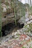 Vorontsovskaya cave Stock Images