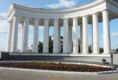 Vorontsovskaya kolumnada w Odessa zdjęcie royalty free