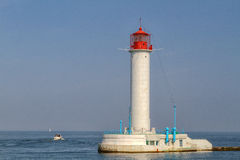 Vorontsovsky lighthouse Royalty Free Stock Photos