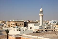 Vorort in Doha, Katar stockfotos