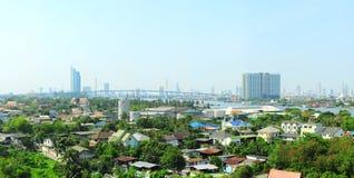 Vorort von Bangkok stockfotos