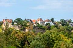 Vorort von Dresden stockfotografie