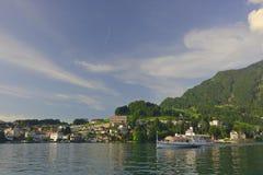 Vorort von Luzerne Stockbild