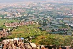 Vorortdorf von Guangzhou-Stadt Lizenzfreies Stockfoto
