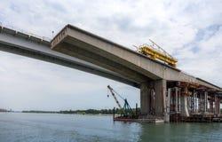 Voroshilovskiy-Brücke Stockfotografie
