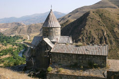 Vorotnavank church in Armenia Stock Photo