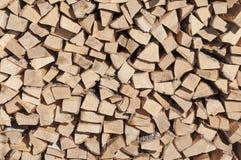 Vorrat an Brennholz Lizenzfreie Stockbilder
