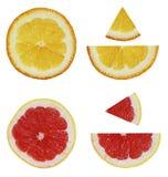Vorrat-Foto-Frucht-Zitrusfrucht-exotisch-Sommer-Spitze-Ansicht lizenzfreie stockbilder