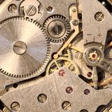 Vorrichtung einer Uhr stockbilder