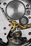 Vorrichtung einer Uhr stockfotografie