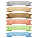 Vorsatz origami Marke aufbereitetes Papier Lizenzfreie Stockfotografie