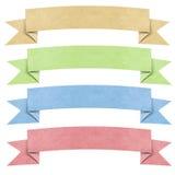 Vorsatz origami Marke bereitete Papierfertigkeit auf lizenzfreies stockfoto