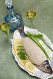 Vorschmack, chopped fish, chopped herring Stock Photography