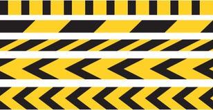 Vorsichtband-Grenzvektor Stockbild
