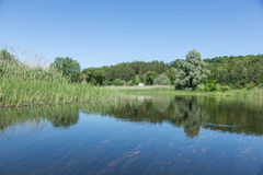 The Vorskla River. Royalty Free Stock Photos