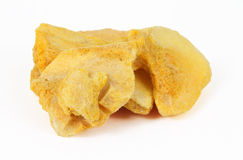 Vorst - droge abrikozen Stock Foto's