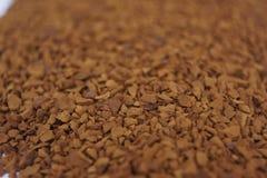 Vorst - droge koffie Royalty-vrije Stock Afbeeldingen