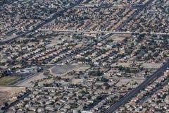 Vorstadt-Las Vegas-Ausbreitung lizenzfreies stockfoto