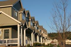 Vorstadthäuser Lizenzfreies Stockfoto