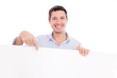 Vorstandmann beiläufig stockbild