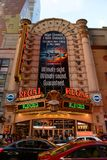 Vorstelijk Theater, Times Square, Manhattan, NYC royalty-vrije stock foto