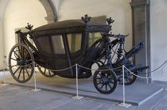 Vorstelijk vervoer van de 19de eeuw stock foto's