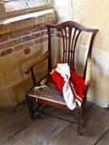 Vorstelijke stoel Royalty-vrije Stock Afbeeldingen