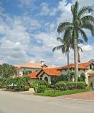 Vorstelijke Tropische Huizen 1 Royalty-vrije Stock Afbeeldingen