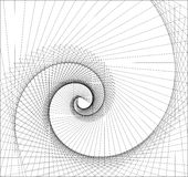 Vortex abstrait illustration stock