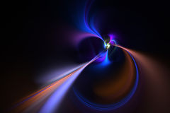 Vortex abstrato do Fractal Fotografia de Stock Royalty Free