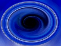 Vortex azul - fundo do redemoinho de Blackhole ilustração do vetor
