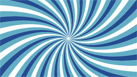 Vortex bleu avec le contour Photos libres de droits