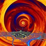 Vortex of Colors Stock Photo