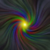Vortex of colors with varying saturation Royalty Free Stock Image