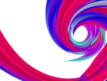 Vortex of Colour Abstract Background. Spiral of Colour Abstract Background Royalty Free Stock Photos