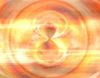 Vortex Copper. Abstract background for use in design or image work Royalty Free Stock Images