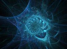 vortex de fractale illustration de vecteur