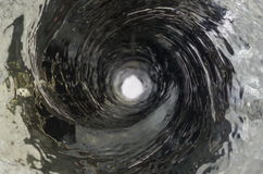 Vortex. High speed shutter shot of spiraling water Stock Photo