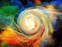 Vortex intérieur de mouvement Image stock