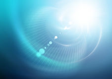 Vortex Light Background. Blue and White Light Vortex Royalty Free Stock Photo