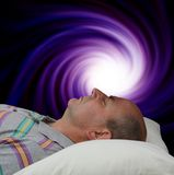 Vortex Meditation Royalty Free Stock Images