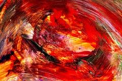 Vortex ogień Zdjęcia Royalty Free