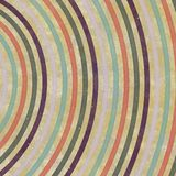 Vortex-shaped circles, curves and spirals, graphic design. Spiral texture. Retro paper Stock Image