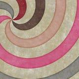 Vortex-shaped circles, curves and spirals, graphic design. Spiral texture. Retro paper Stock Photo