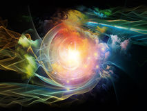Vortex in Space Royalty Free Stock Photography
