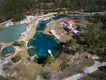 Vortex Springs - Aerial View Royalty Free Stock Images
