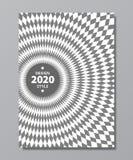 Vortex, swirl, rotary   background. Swirl poster design in retro trendy style Stock Photo