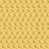 Vortex whorl seamless pattern Royalty Free Stock Images