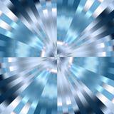 Vortice blu Immagini Stock